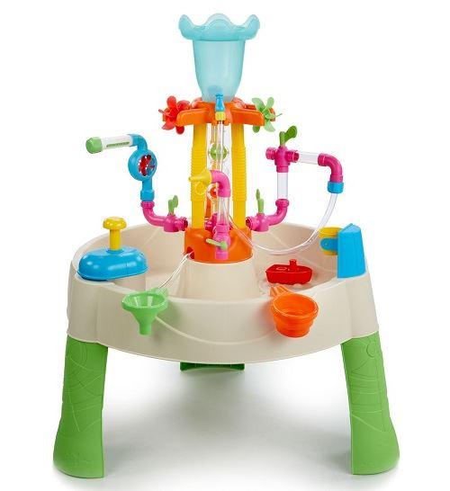 Table d'activités aquatiques fountain factory - jeu d'eau - little tikes