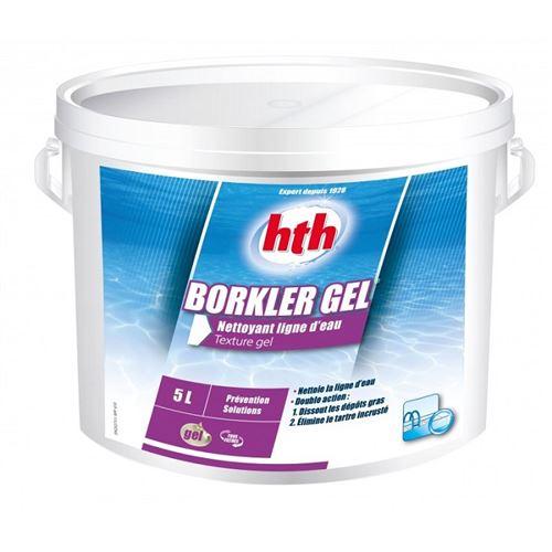 HTH Borkler gel - Nettoyant ligne d'eau gel