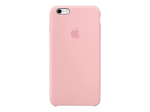 Coque Apple pour iPhone 6s en silicone Rose