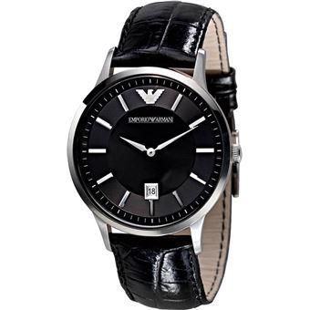 montre armani homme bracelet cuir