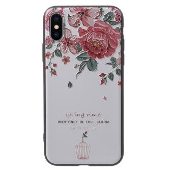 coque iphone x printemps