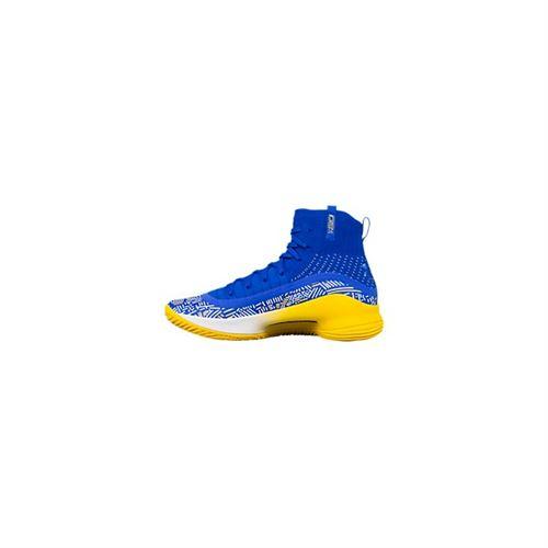 Chaussure de Basketball Under Armour Curry 4 More Fun Bleu
