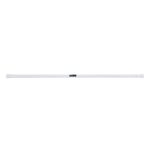 Rail télescopique de rideau salle de bains télescopique extensible 105-200cm