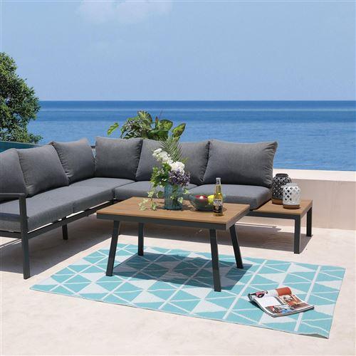 tapis d'extérieur/intérieur réversible 180x120cm - galapagos120cm