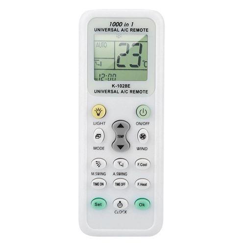 Télécommande de climatiseur Paramètres universels en un clic Écran LCD Contrôleur