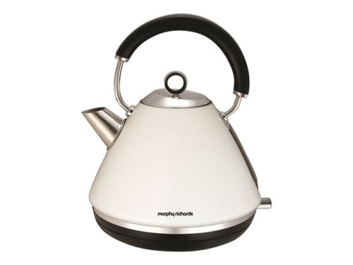 Morphy Richards Accents Traditional 102005 - bouilloire - blanc