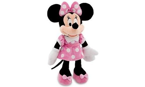 Minnie Mouse Plush Backpack - Sac à dos 3D - Mininie by Disney