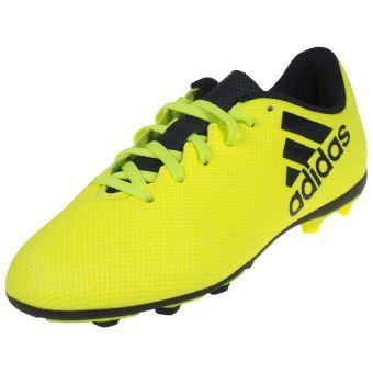 Chaussures football moulées Adidas X 17.4 junior fxg Jaune