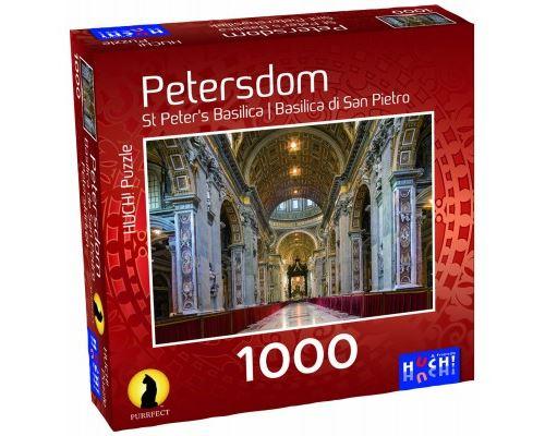 Puzzle 1000 Pièces : Basilique Saint-Pierre, HUCH and friends
