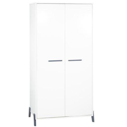 babyprice - joy gris - armoire 2 portes