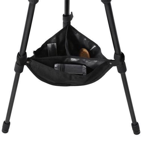 Accessoire noir et résistant de sac de pierre de stabilisateur de trépied noir