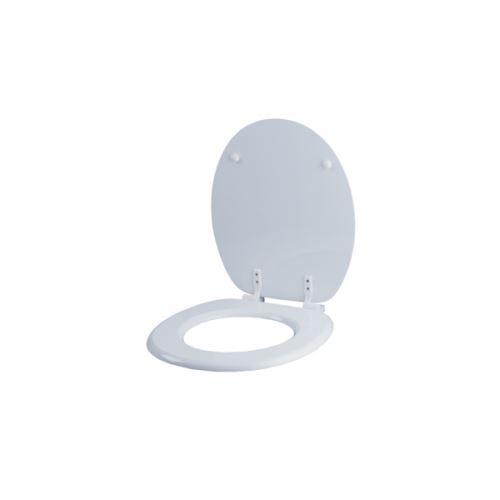 ABATTANT WC EN MDF BLANC - MEDIAL - Blanc - 4 Kg - MDF