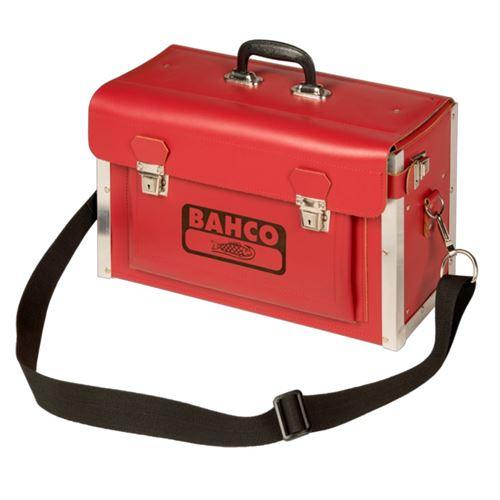 BAHCO Mallette à outils pour électricien Cuir artificiel 44,5x19x27 cm