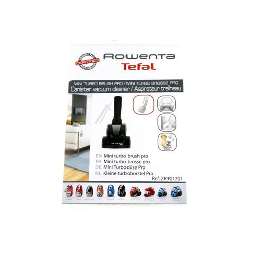 Mini turbo brosse pour aspirateur rowenta - d329584