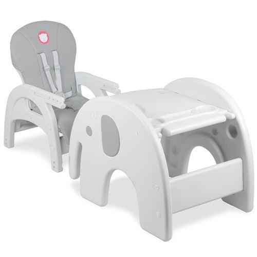 Évolutive Chaise Ans 6 Mois chaise Haute Gris 2en1 À Bureau Eli De bfyg7Y6