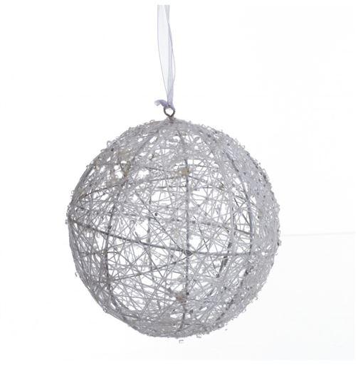 Boule de noël - Métal - 13 cm