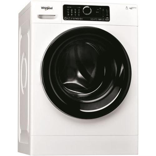 Whirlpool Supreme Care ZENDOSE8 - Machine à laver - indépendant - largeur : 59.5 cm - profondeur : 61 cm - hauteur : 85 cm - chargement frontal - 55 litres - 8 kg - 1400 tours/min - blanc