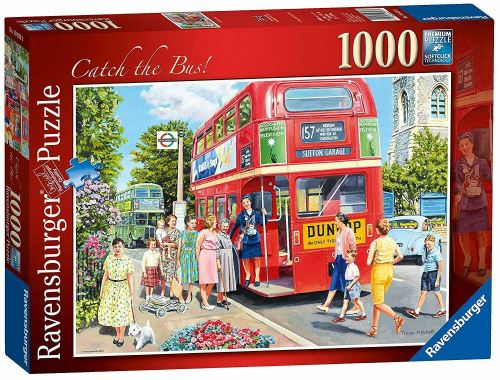 Catch The Bus 1000pc Casse-tête