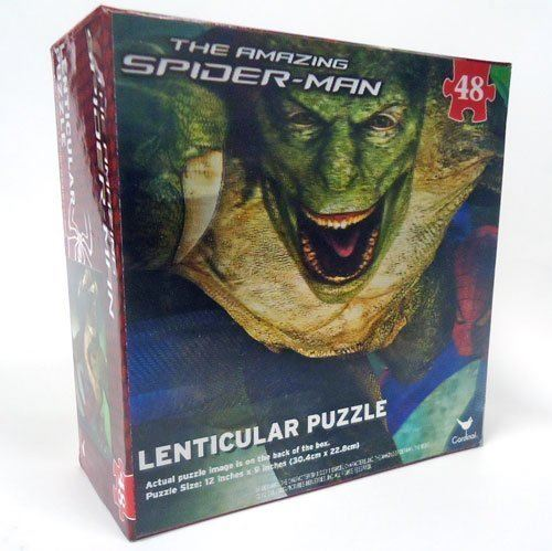 The Amazing Spider-Man Lenticular 48-Piece Puzzle (Spiderman Lizard)