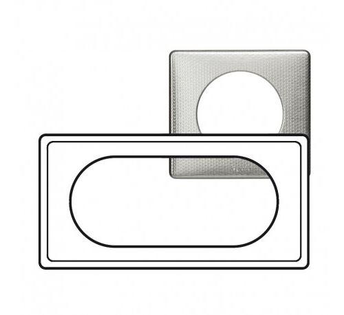 Plaque Céliane Alu Snake - 4/5 modules