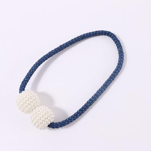 Boucle Clip Magnétique Rideau Bretelles Bleu royal