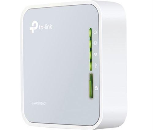 Routeur sans fil portable WiFi AC 750 Mbps TP-LINK TL-WR902AC Blanc
