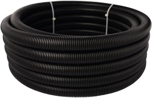 Wiroflex schutzr Plus Couche de chape de coupe-tube encastré avec isolation thermique et acoustique Isolation, 1 pièce, 16 mm, noir, 26109 8