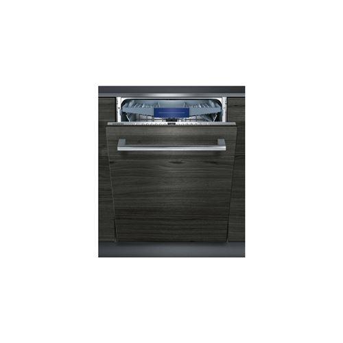 Siemens iQ300 speedMatic SX736X19ME - Lave-vaisselle - intégrable - Niche - largeur : 60 cm - profondeur : 55 cm - hauteur : 86.5 cm - acier inoxydable