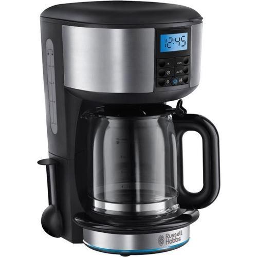 RUSSELL HOBBS 20680-56 - Cafetiere Buckingham - Programmable, douchette nouvelle technologie - 15 tasses - 1000 W