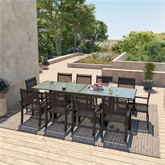 Avril Paris - HARA XL - Table de jardin extensible aluminium ...