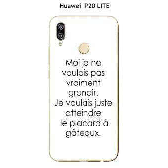 coque huawei p20 lite phrase drole