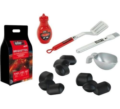 Klein Ensemble d'accessoires pour barbecue Weber 8 pièces