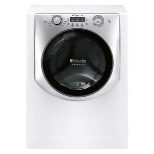 Hotpoint Ariston Aqualtis PWAQ92F 29 FR - Machine à laver - indépendant - largeur : 59.5 cm - profondeur : 55.1 cm - hauteur : 85 cm - chargement frontal - 58 litres - 9 kg - 1200 tours/min - perle blanche