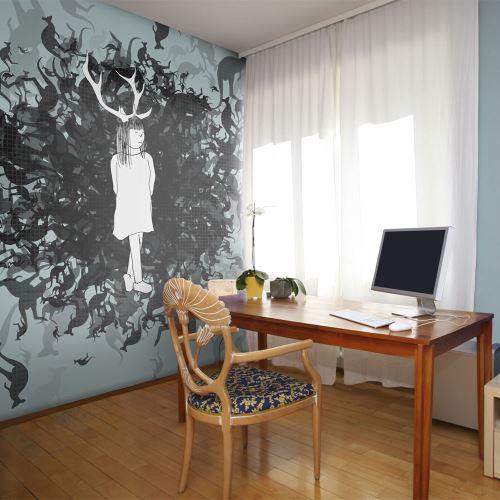 Papier peint - Reine des kangourous - 450x270 - -