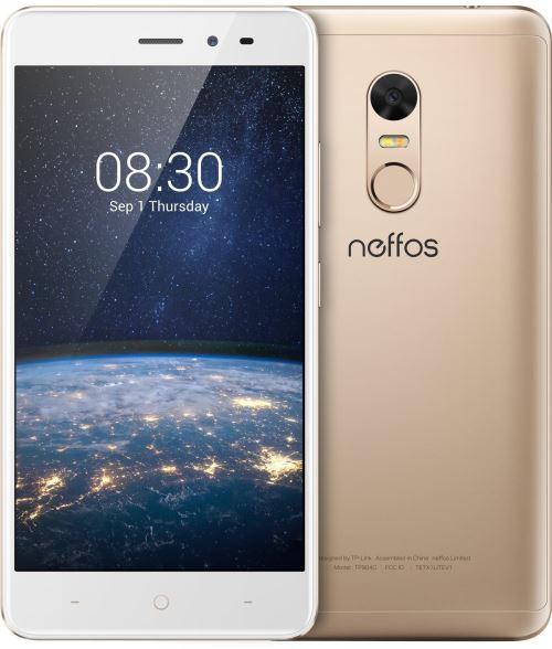 Neffos X1 Lite Smartphone débloqué 4G (Ecran : 5 pouces - 16 Go - Double Nano-SIM - Android 7.0) Doré