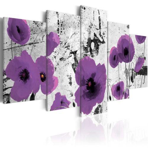 Tableau - Purple dissonance .Taille : 200x100