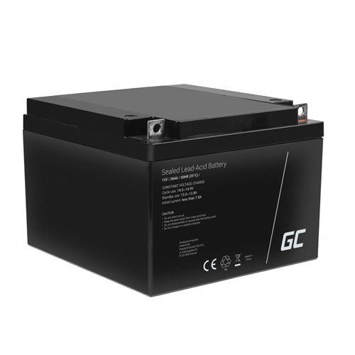 Green Cell AGM Batterie au plomb 12V 26Ah
