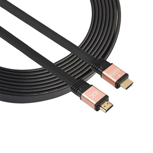 (#23) 1.5m HDMI 2.0 (4K) 30AWG High Speed 18Gbps Gold Plated Connectors HDMI Male to HDMI Male Flat