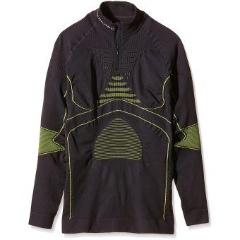 28149f0c87e X-Bionic Energy Accumulator T-Shirt manches longues col 1 2 zip Homme -  Hauts