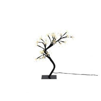 sapin de noel artificiel lumineux fleur blanc et noir 38. Black Bedroom Furniture Sets. Home Design Ideas