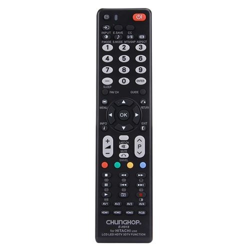 (#103) Universal Remote Controller for HITACHI LED TV / LCD TV / HDTV / 3DTV