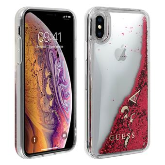 coque iphone x silicone paillette