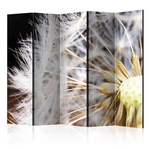 Paris Prix - Paravent 5 Volets fluffy Dandelion 172x225cm