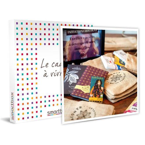 SMARTBOX - Box Découverte haut de gamme Raconte-moi un Chocolat livrée à domicile - Coffret Cadeau