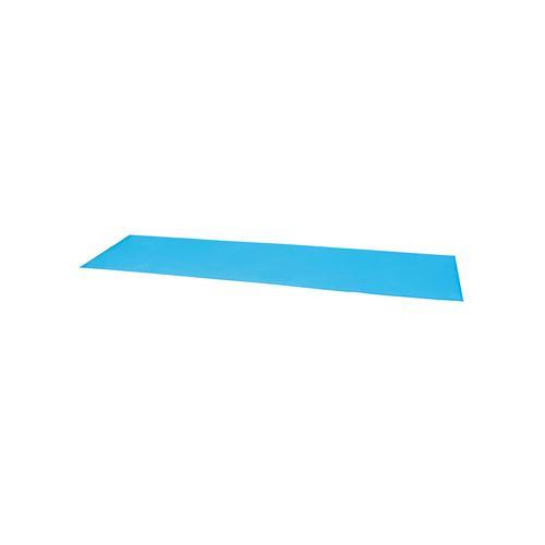 Tapis de sol camp de base - 190 x 50 x 0 -60 cm - Bleu