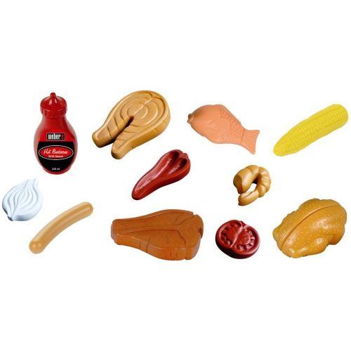 Set aliments grillades Mini Weber Klein