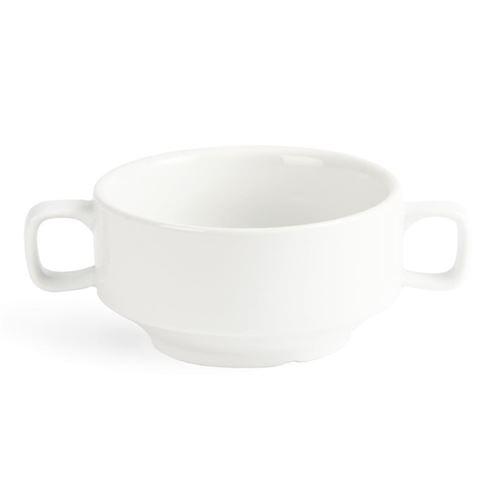 Bol à soupe avec anses blancs 115mm olympia