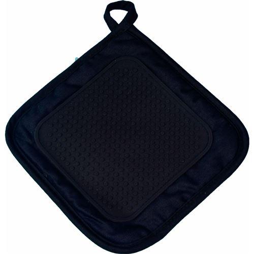 Manique 19 x 19 cm polycoton+silicone cuistot Noir