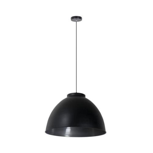 corep suspension en métal dock xxl - ø 60 cm - h 39 cm - e 27 - 60 w - noir mat