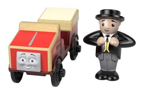 Thomas et ses amis locomotive en bois Winston, jouet pour enfant 2 ans et plus, FHM21